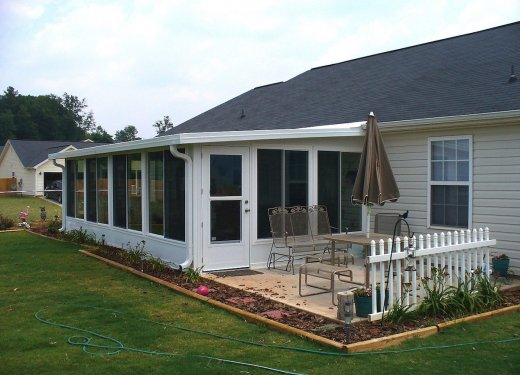 Sunroom with insulated roof near Greer, SC