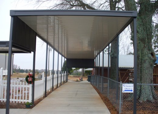 Walkway system - Good Hope Baptist near Anderson, SC